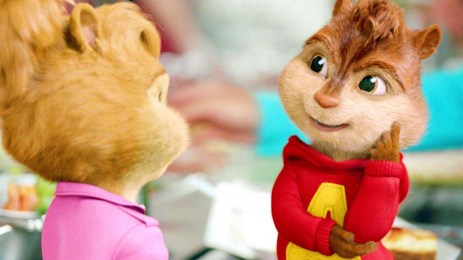 Alvin y las ardillas 2 ( HD 720P y español Latino 2009) poster poster box cover
