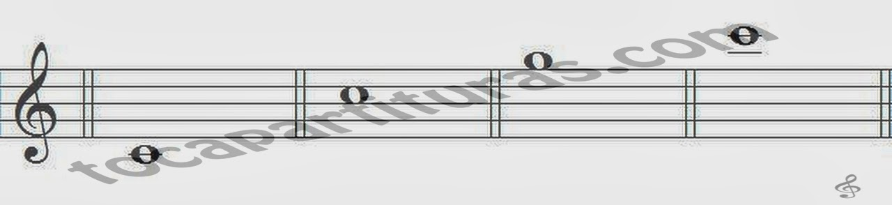 Ejercicio 1 para Aprender Armónicos con saxofón