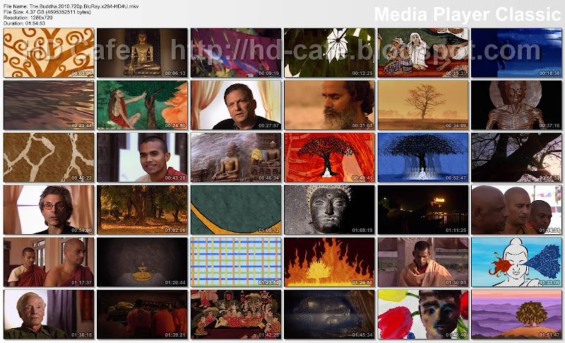 The Buddha 2010 video thumbnails