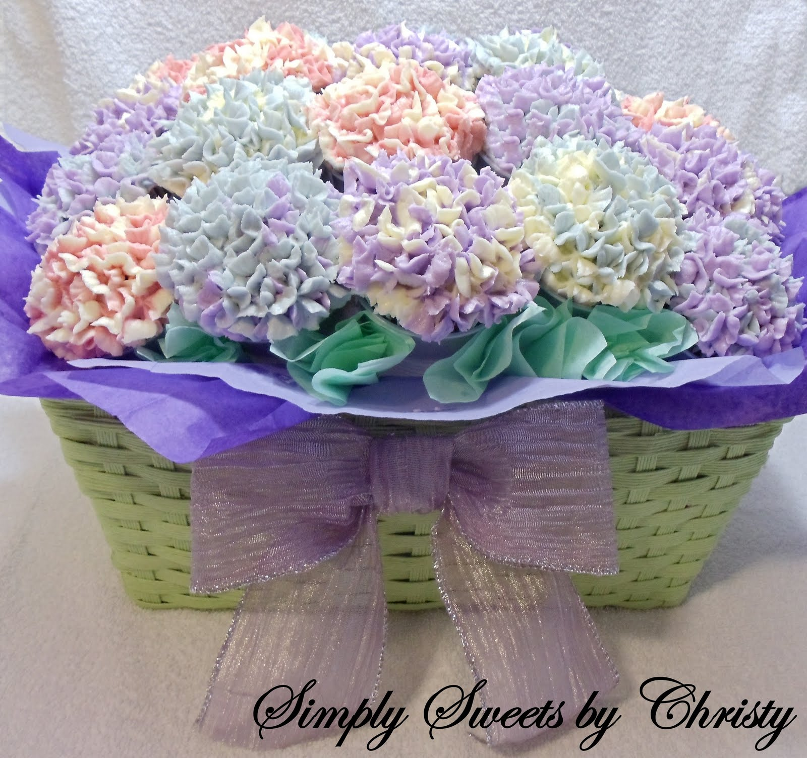 Simply Sweets By Christy Cupcake Bouquet For A Special Lady