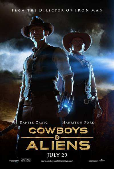 Cowboys Vs Aliens 2011 Extended BRRip Español Latino 720p HD Descargar