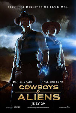 Cowboys Vs Aliens 2011 Extended BRRip Latino 720p