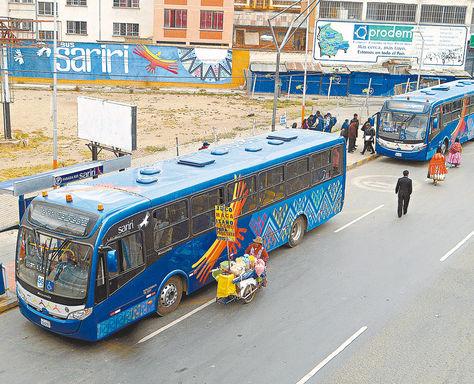 Los buses Sariri