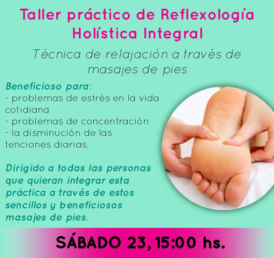 Reflexologia: masajes de pies