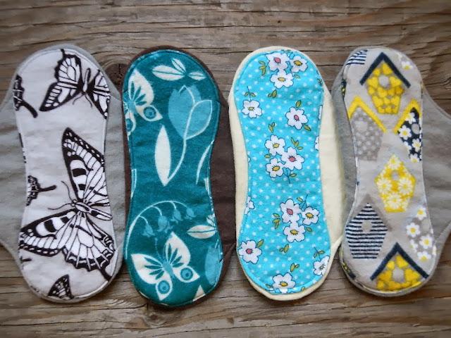 reusable panty liner mama cloth menstural moon pads