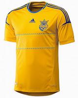 Euro 2012 Ukraine Home Jersey