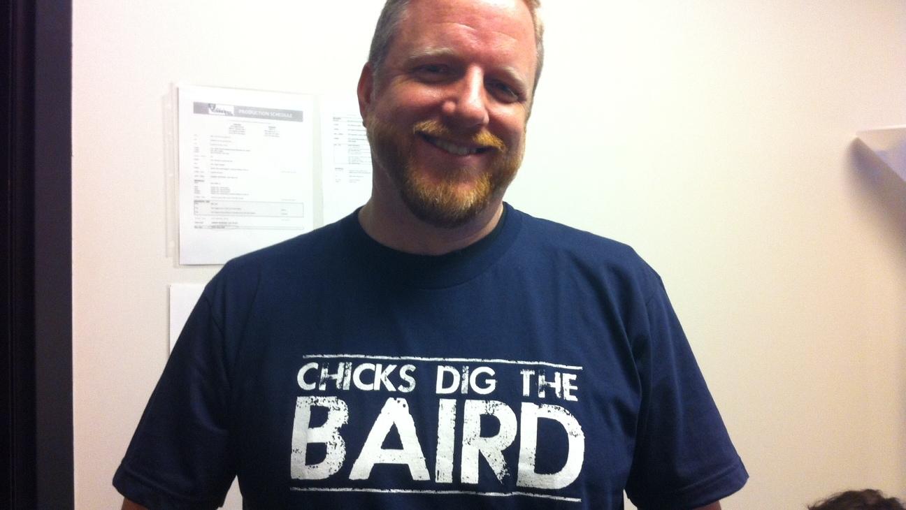 Chicks dig the baird tshirt