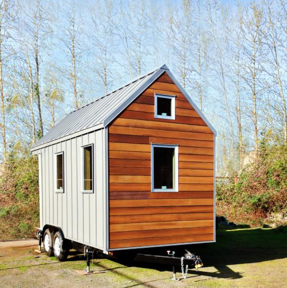 Walking dream tiny house for Piccola casa efficiente