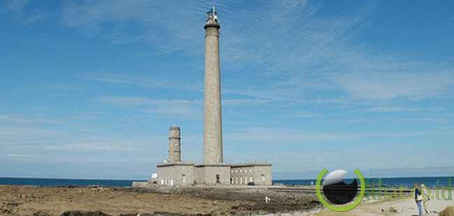 Pointe de Barfleur Lighthouse - 75 meter