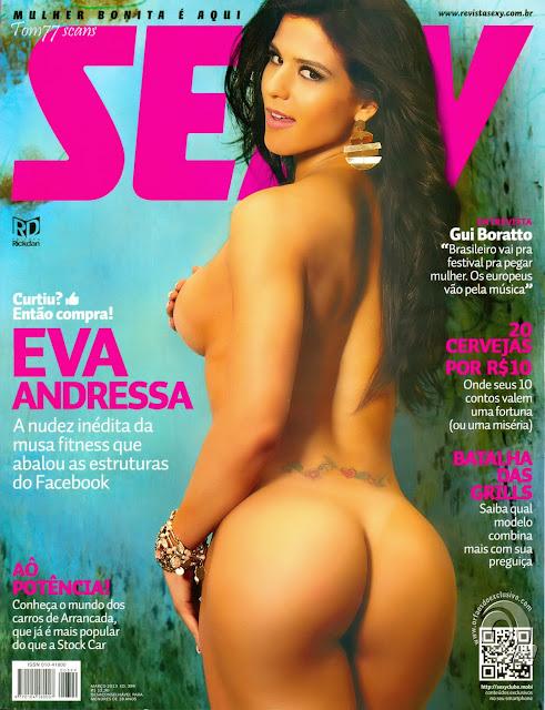 Sexy - Capa: Eva Andressa, A Musa do Fitness! - Edição Março 2013