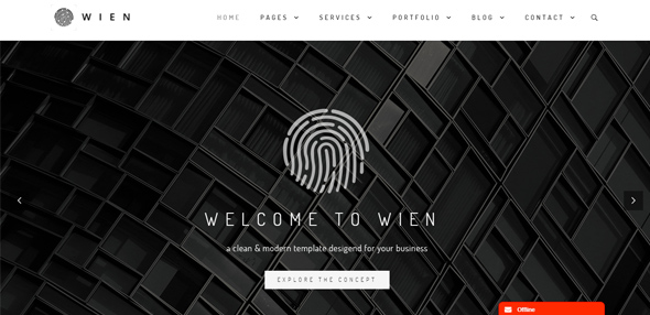 Wien – Responsive & Multipurpose WordPress Theme