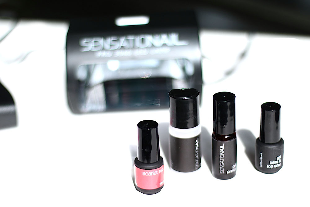 sensationail vernis gel semi permanent à domicile avis test swatch photo conseils