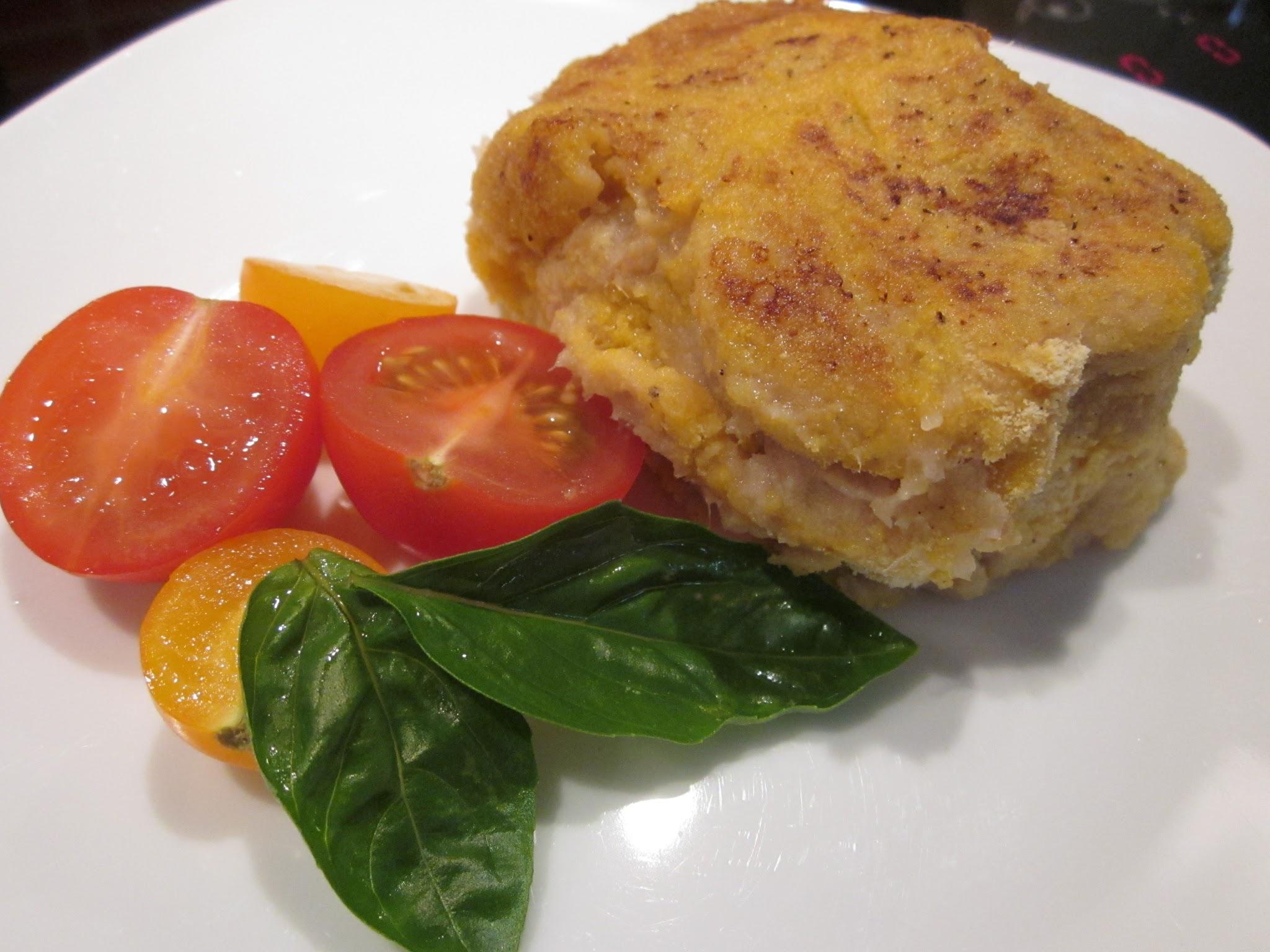 Panés de thon parmentier sans gluten