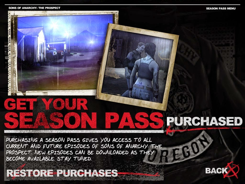 Download Free Sons of Anarchy: The Prospect Game Unlock Season Pass (All Versions)