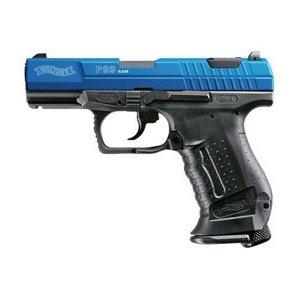 custom paintball guns real action marker walther p99 ram blue slide. Black Bedroom Furniture Sets. Home Design Ideas