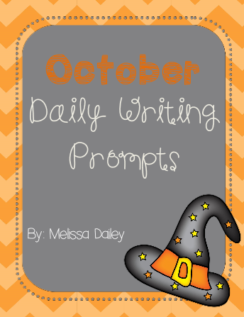 """October Daily Writing Prompts"""