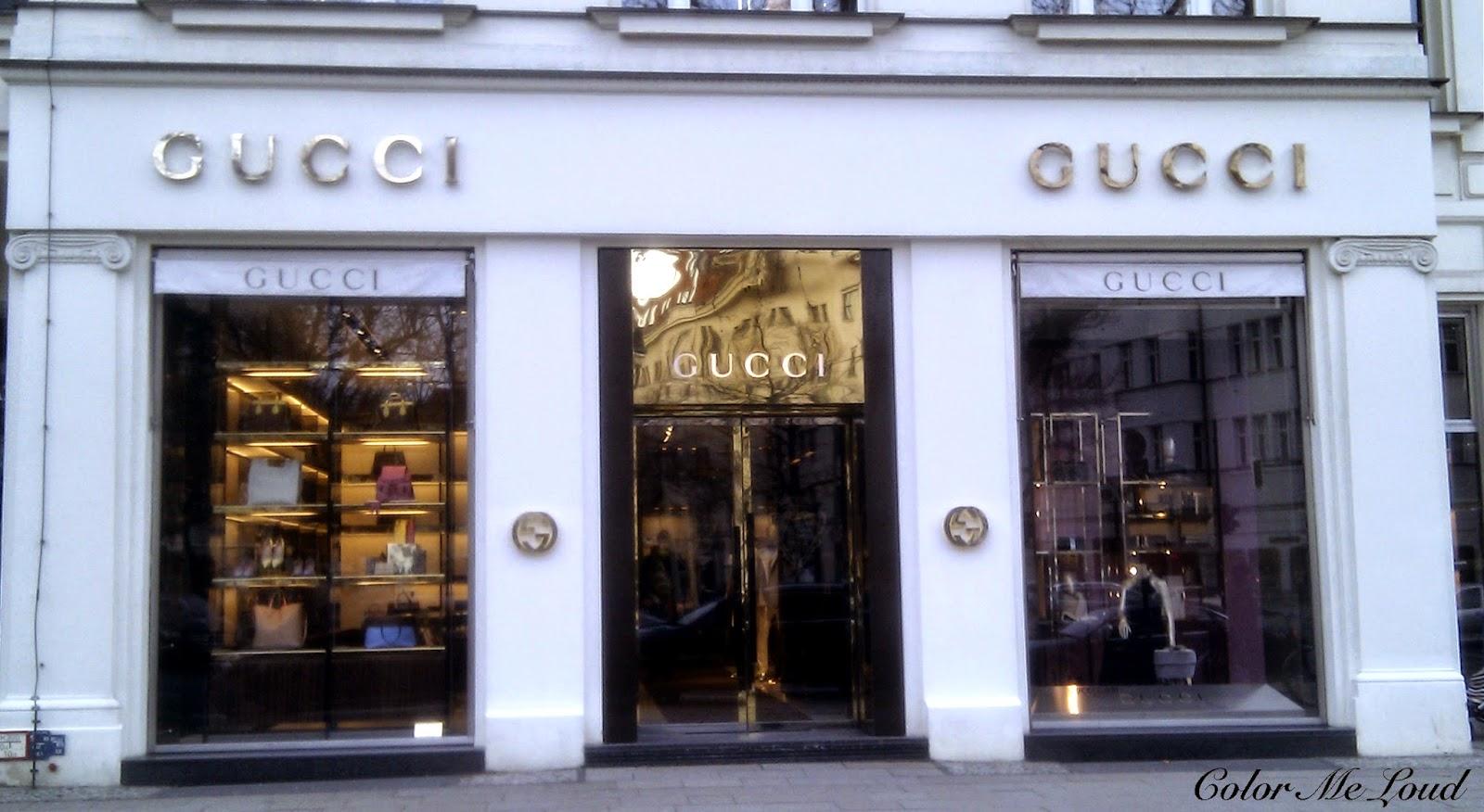 Gucci Store in Kurfürstendamm, Berlin