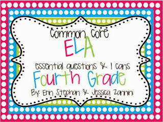 http://www.teacherspayteachers.com/Product/Common-Core-EQs-and-I-Cans-for-4th-Grade-Reading-ELA-944898