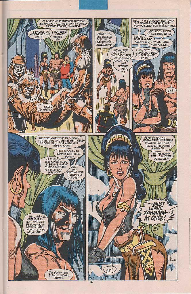 Conan the Barbarian (1970) Issue #253 #265 - English 21