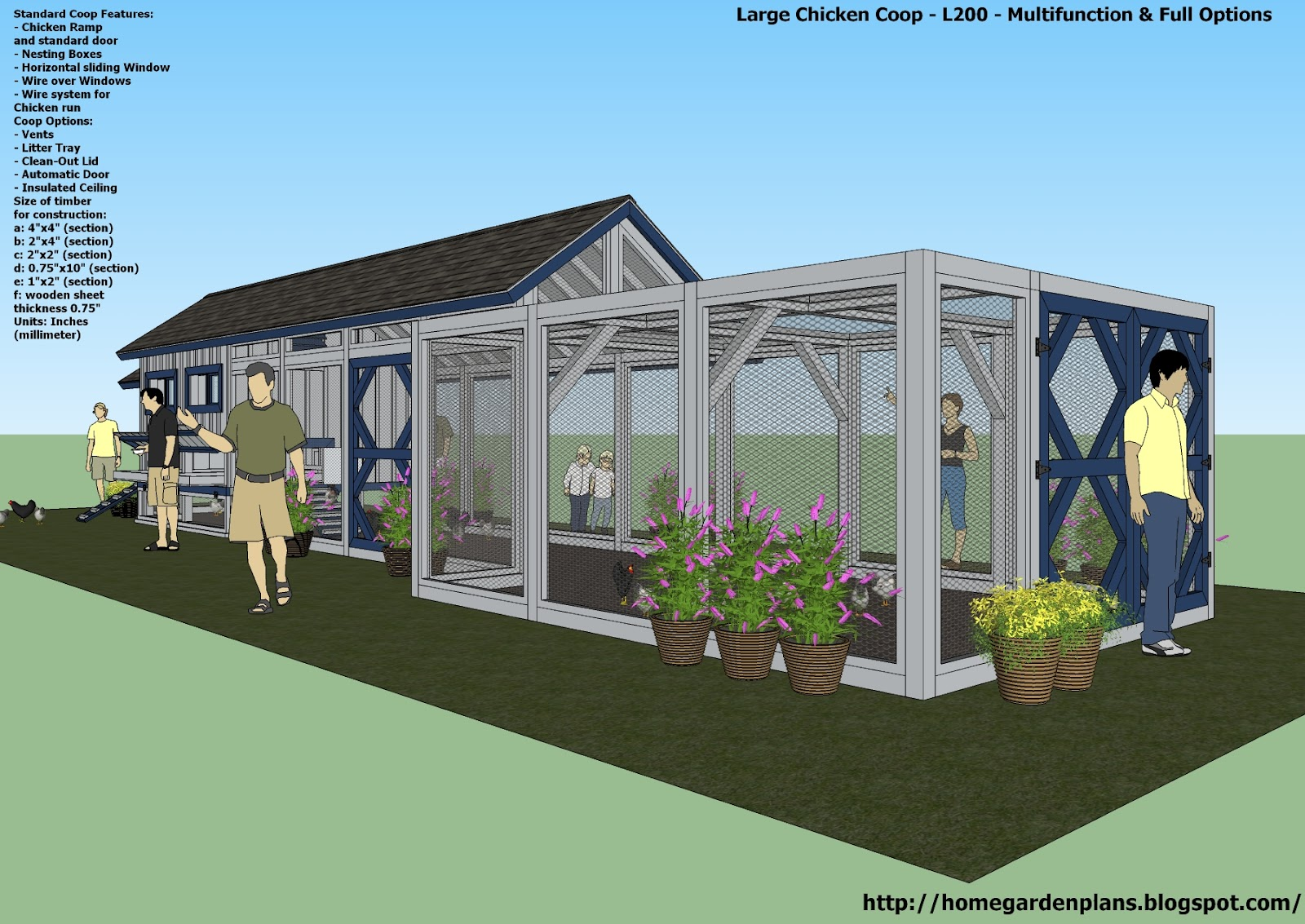 building the run mesh - Chicken Co Op Plans And Greenhouse