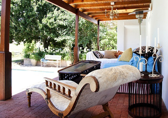Safari Fusion blog | Outdoor living | Country chic at Joubertsdal Farm Swellendam, South Africa