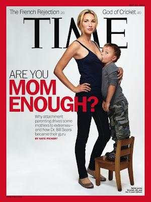 caratula de revista sobre crianza con apego a los padres