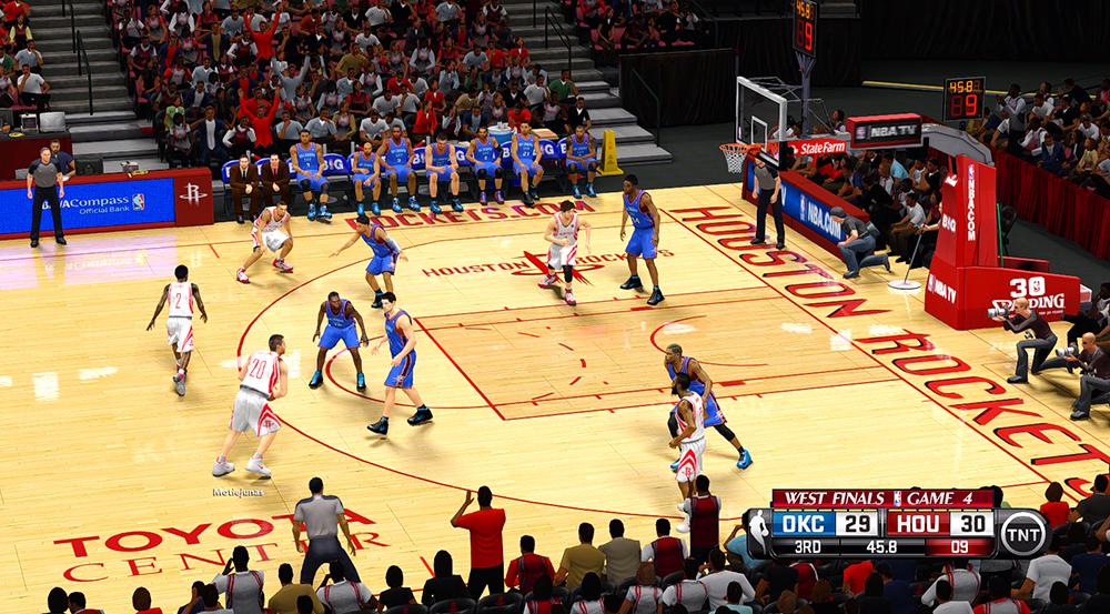 NBA 2K14 TNT Scoreboard Mods - Playoffs / NBA Cares ...