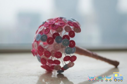 Bó Hoa Valentine Handmade