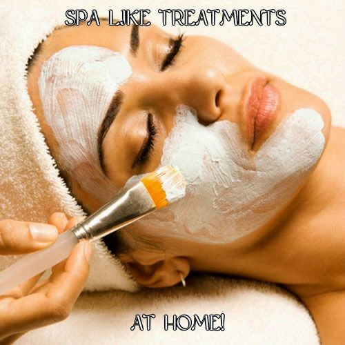 spa like treatments at home
