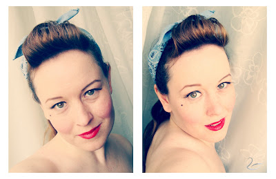 Pin-Up-Look bei New Swan