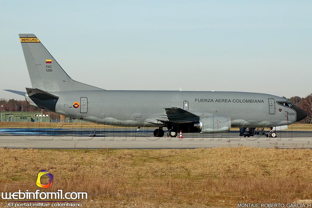 Colombia - Página 39 Avion+Carga+Boeing+737F+Fuerza+Aerea+COlombiana