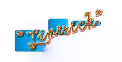 Comic-Schriftzug Limerick