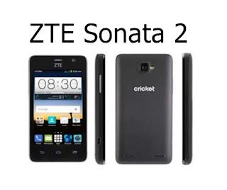 Harga ZTE Sonata 2 Terbaru Dengan Prosesor Quad Core