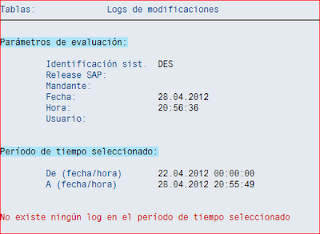 Log de modificaciones