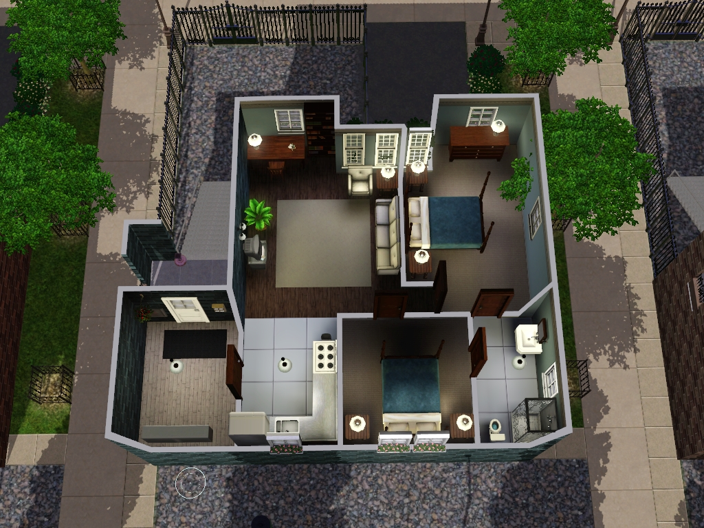 my sims 3 blog two new apartments by my sim realty
