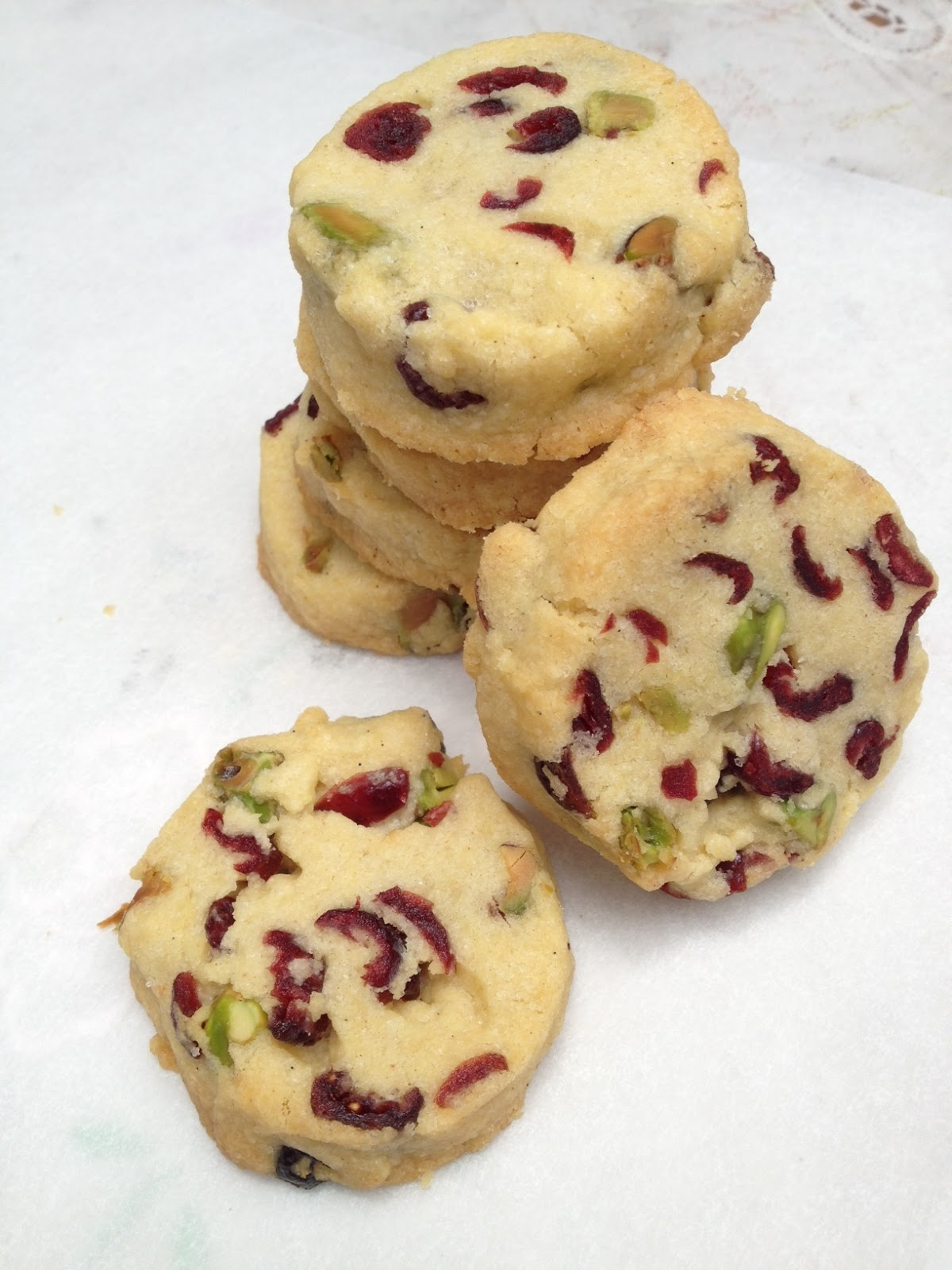 Pistachio Shortbread Recipe — Dishmaps