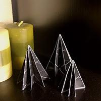 árboles origami Ideas para decorar esta Navidad craft eco reciclado reutilizar