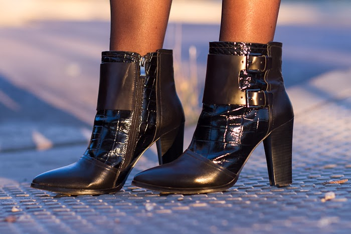 Ankle Strap Boots: WLTER by JESSICA BUURMANN