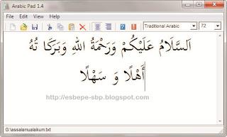 arabic pad 1 4