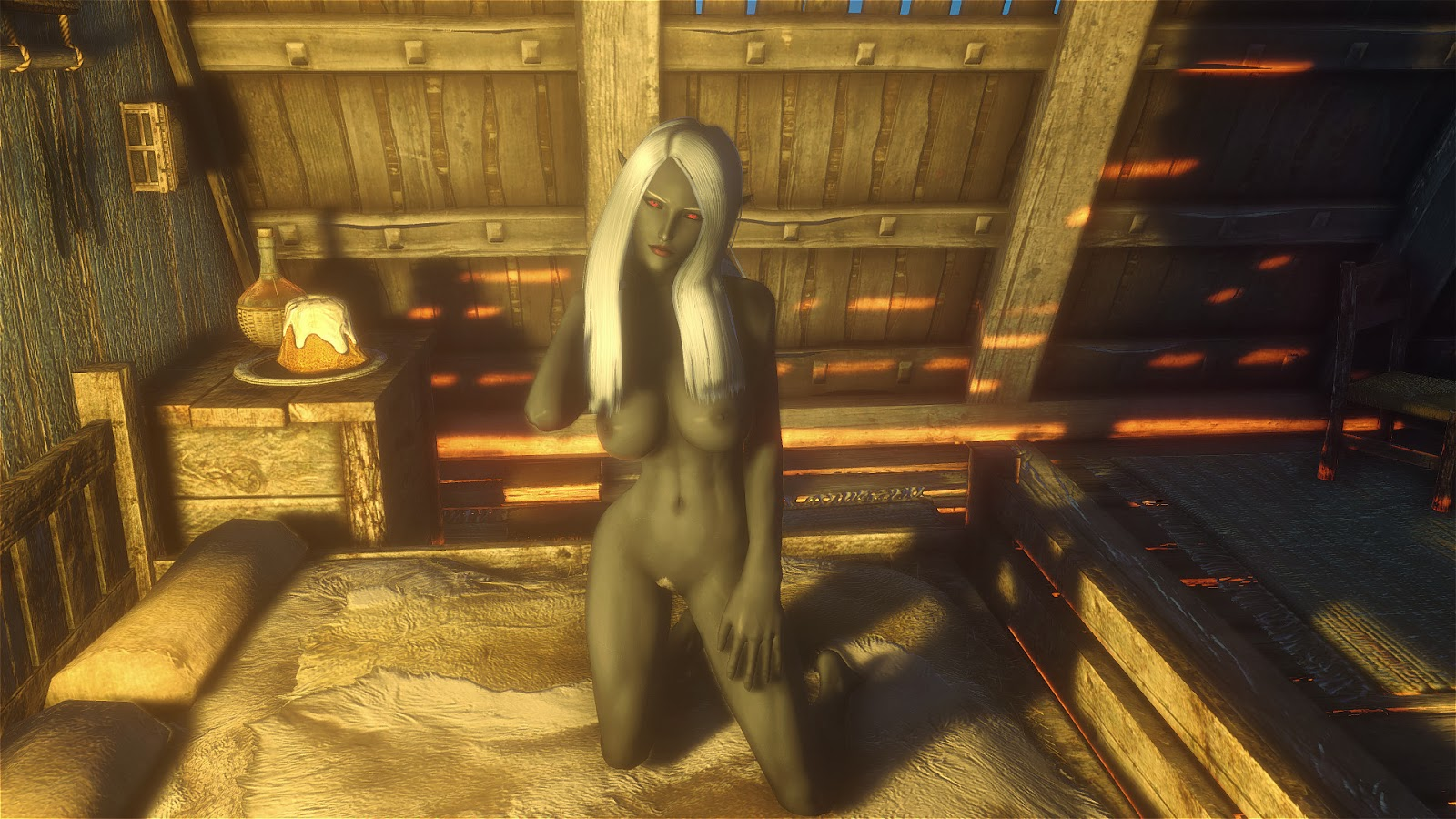 Erotic skyrim mods naked gallery