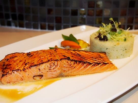 rws cat cora ocean restaurant salmon