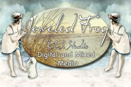 E.L.S. Studio a Jeweled Frog Creation