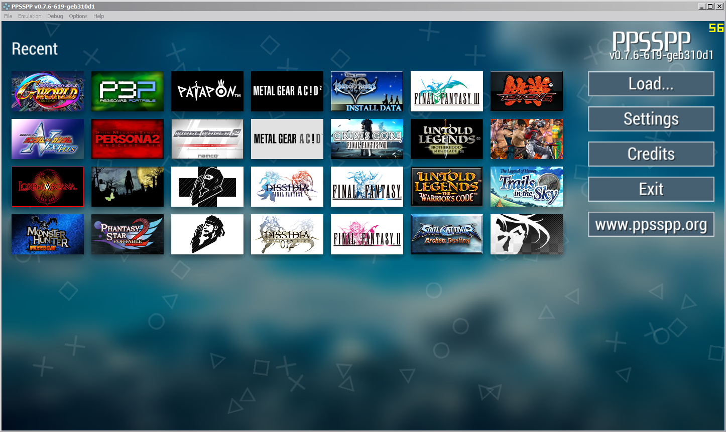 Download PPSSPP, Emulator PSP Terbaik Gratis - Blog Cheat ...
