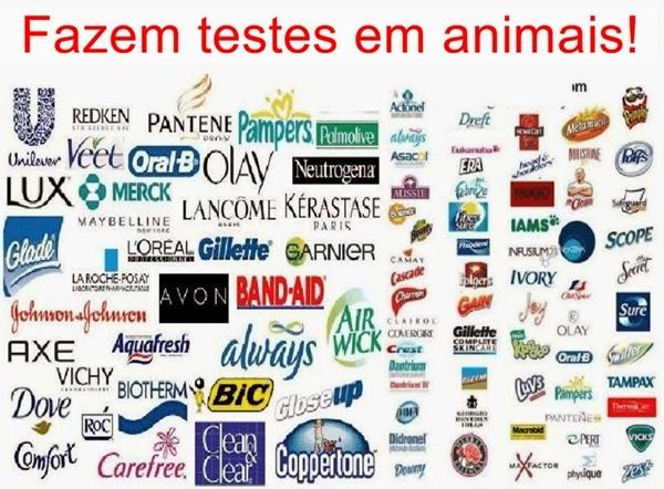 marcas que fazem testes