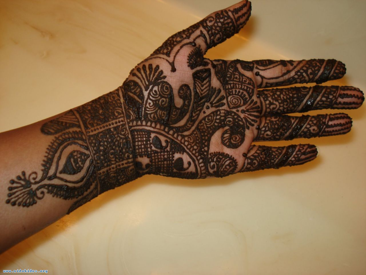 Mehndi Hands New : Full hand mehndi desings
