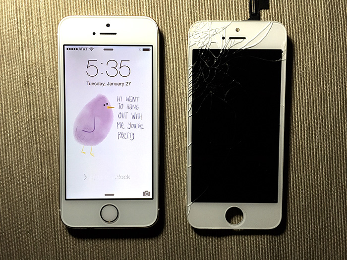DIY iPhone screen repair