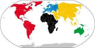 Nombres de los continentes