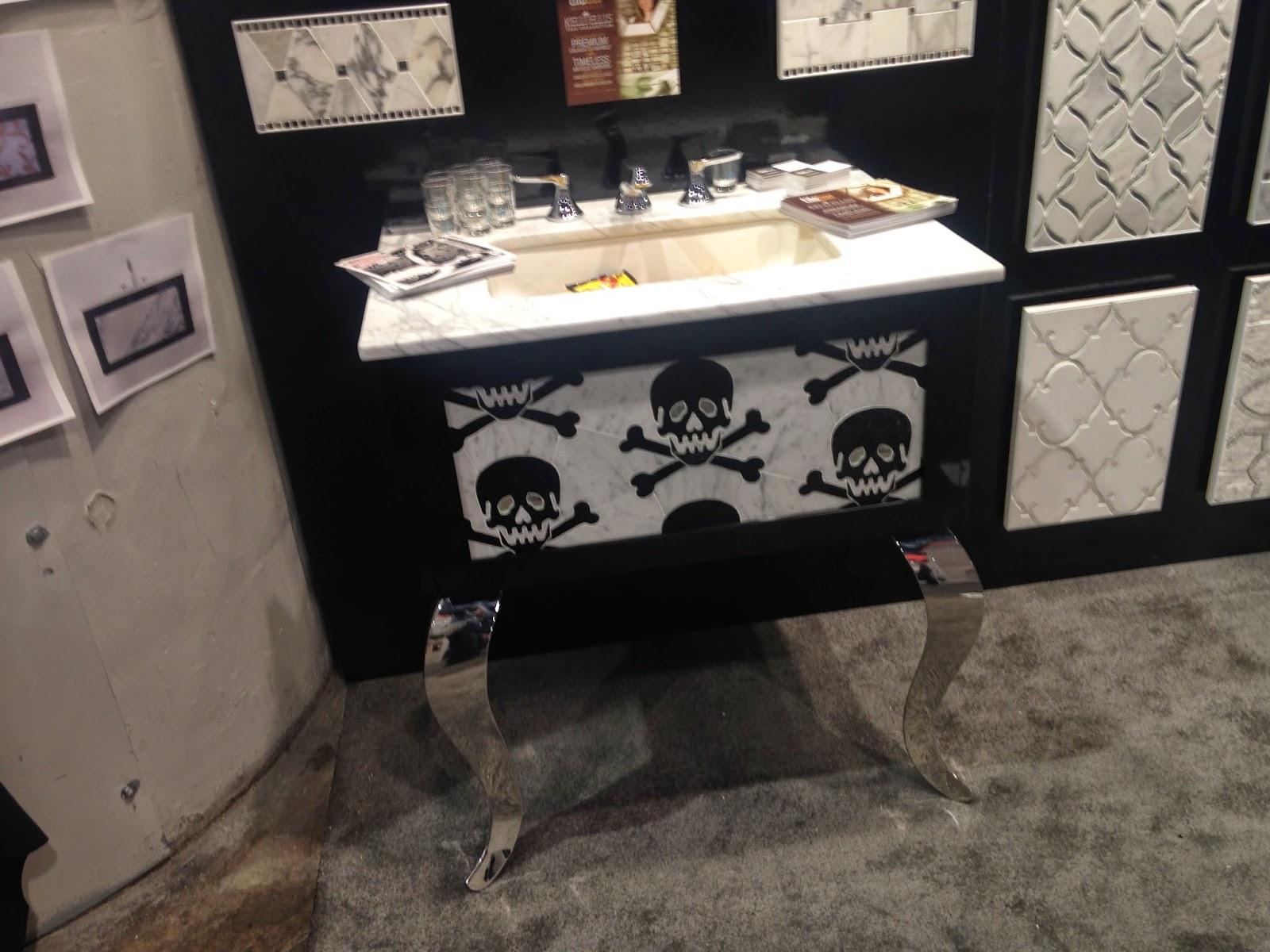 Skull Bathroom Sink : TheBuilderFix: Skull and Crossbones, a new designer trend? What do you ...