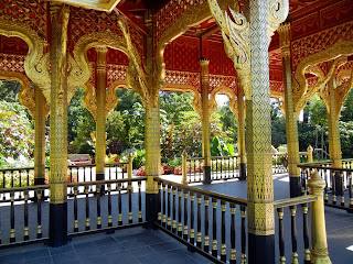 The Thai Pavilion at the Olbrich Botanical Gardens in Madison, Wisconsin