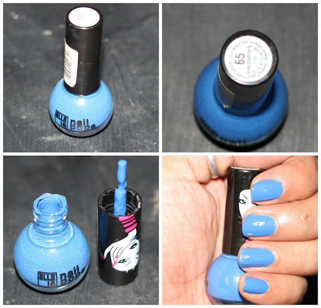 A Bright Blue Shade of Elle 18 Nail Pop in No 65 - Shopping, Style ...